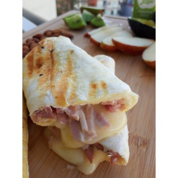 Roll Proteico Jamón y Queso